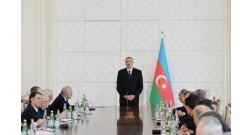 Prezident İlham Əliyevin Nazirlər Kabinetinin iclasında Ağ Şəhər layihəsi haqda danışıb