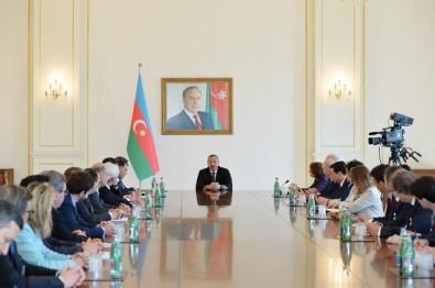 Президент Ильхам Алиев упомянул о прокте Baku White City на встрече с Организацией предпринимателей Франции