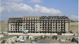 """""""AQP İnşaat"""" şirkətinin yaşayış kompleksinin 1-ci binasının tikintisi sona yaxınlaşır."""