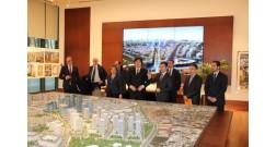 Делегация во главе с Государственным Секретарем Франции посетила проект Baku White City