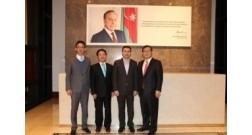 Делегация из Кореи во главе с председателем корейской компании «Halla Group» посетила проект Bakı Ağ Şəhər