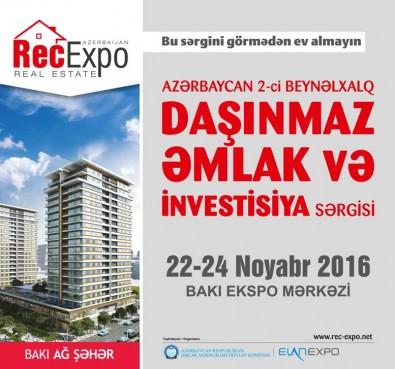 Проект Baku White City участвует на выставке выставка недвижимости и инвестиций