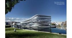 BAKI AĞ ŞƏHƏR layihəsi çərçivəsində UNStudio beynəlxalq memarlıq şirkəti Bankın Baş Ofisinin layihələndirilməsinə başlamışdır