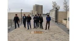 Казахстанская делегация прибыла в Baku White City