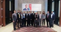 Dubai Ticarət Missiyası Bakı Ağ Şəhər layihəsinin ofisini ziyarət etmişdir