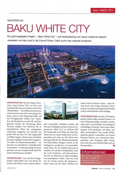 Baku White City - Focus Avstriya
