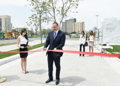Prezident İlham Əliyev Bakı Ağ Şəhər bulvarının açılışında iştirak edib