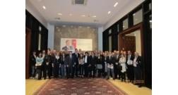 Делегация представителей итальянских предприятий посетила офис проекта Baku White City