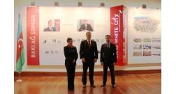 Чешский посол побывал в офисе проекта Bakı Ağ Şəhər