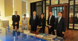 Деегация посольства Франции в Азербайджане посетила офис проекта Bakı Ağ Şəhər