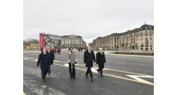 Ильхам Алиев ознакомился с работой, проделанной в Baku White City