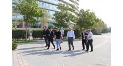 Делегация из Казахстана посетила проект Baku White City