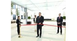 Президент Ильхам Алиев принял участие в открытии «Бульвар отеля» в Баку