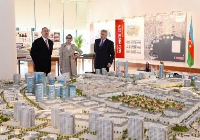 Ильхам Алиев ознакомился с офисным зданием, строительство которого завершилось в «Bakı Ağ Şəhər»