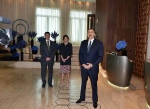 Президент Ильхам Алиев: «В ближайшие дни в распоряжение жителей будет передан бульвар «Ağ Şəhər».
