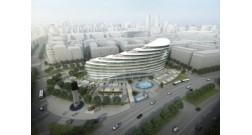 Bakı Ağ Şəhər ərazisində növbəti yeni binanın inşasına başlanmışdır
