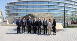 Делегация Представительского совета Еврейских институтов Франции посетила Baku White City
