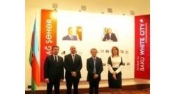 Чрезвычайный и Полномочный посол Италии в Азербайджане Джампаоло Кутилло ознакомился с проектом Bakı Ağ Şəhər.