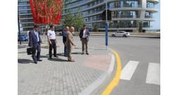Делегация из Бакинского транспортного агентства посетила Baku White City