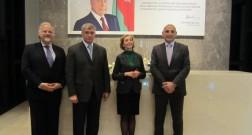 Делегация во главе с министром внешней торговли Франции, сопредседателем комиссии по двустороннему экономическому сотрудничеству Николь Брик посетила проект Baku White City