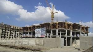 """""""Park Çinar"""" şirkətinin yaşayış kompleksinin binasının tikintisi davam edir."""