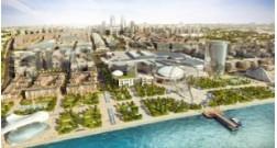 В рамках проекта Baku White City ведется реконструкция дороги по улице Хагани Рустамова