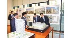 Группа французско-азербайджанской дружбы посетила проект Baku White City