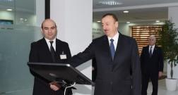 """Президент Ильхам Алиев посетил открытие электрической подстанции """"Ağ şəhər-1"""""""