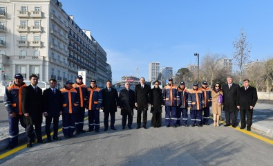 President Ilham Aliyev attended opening of Central Boulevard Street in Baku White City