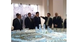 Delegation headed by Chief of Dubai Emir`s Administration introduced to Baku White City Project