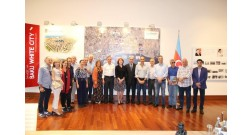 Brazilian architects visited Baku White City