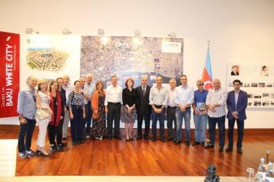 Brazilian architects visited Baku White City