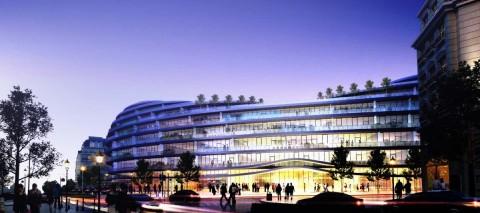 Park Rayonunda ofis binası