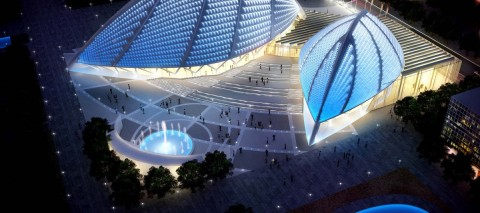 Концертный комплекс в Прибрежном Районе