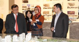 "A delegation of South-Korean company ""Halla Group"" visited the project Baku White City"