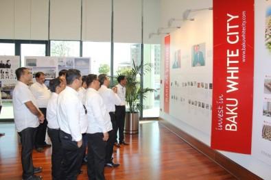 Indian businessmen visited Baku White City