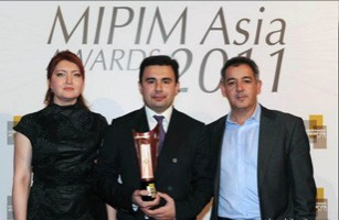 Baku White City Project won «The Best Central and Western Asia Futura Projects» of MIPIM Asia Awards 2011 (Hong Kong)