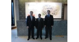 Ambassador of Qatar in Azerbaijan visited the office of Baku White City project