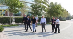 Delegation from Kazakhstan has visited Baku White City