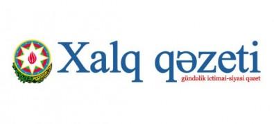 """Khalg Gazeti"" writes about work progress in Baku White City"