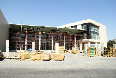 The construction of the French Lyceum is completing