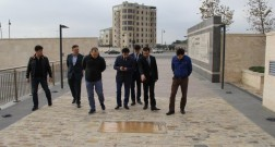 Kazakhstan delegation arrives in Baku White City
