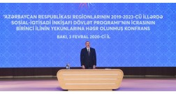 "President Ilham Aliyev: ""Improvement of the environmental situation is always in the spotlight."""
