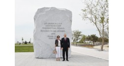 President Ilham Aliyev reviewed the Baku White City boulevard