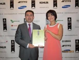 Baku White City recieves prestigious international property awards for Baku White City Office Building