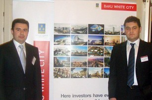 The Baku White City project was presented in Riga