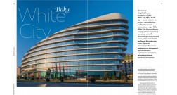 """Yana Property"" magazine writes about Baku White City Office Building"