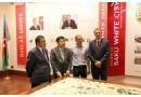 Yaponiyanın Kosugi Zohen Co şirkətinin prezidenti Saki Kosugi Bakı Ağ Şəhər layihəsini ziyarət etmişdir