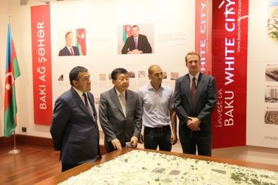 The president of the Japanese company Kosugi Zohen Co visited Baku White City project