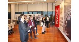 Students and professors from the University of Geneva visited Baku White City